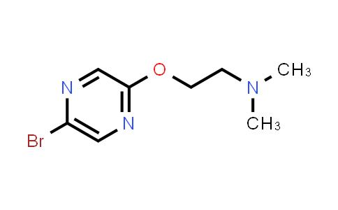 1049024-78-3 | [2-(5-Bromo-pyrazin-2-yloxy)-ethyl]dimethylamine