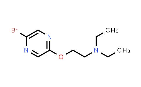 446287-01-0 | [2-(5-Bromo-pyrazin-2-yloxy)ethyl]diethylamine