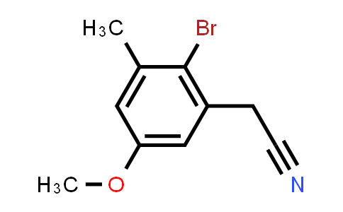 198274-48-5 | (2-Bromo-5-methoxy-3-methylphenyl)acetonitrile