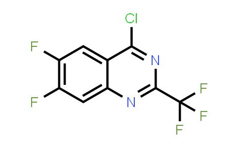 887592-35-0 | 4-Chloro-6,7-difluoro-2-trifluoromethylquinazoline