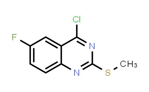 864293-08-3 | 4-Chloro-6-fluoro-2-methylsulfanylquinazoline