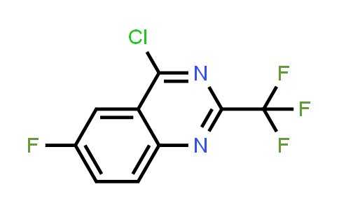 959238-11-0   4-Chloro-6-fluoro-2-(trifluoromethyl)quinazoline