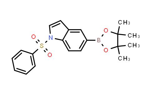 1256359-23-5 | 1-Benzenesulfonyl-5-(4,4,5,5-tetramethyl-[1,3,2]dioxaborolan-2-yl)-1H-indole