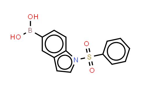 DY455686 | 480438-51-5 | 1-(Phenylsulphonyl)-1H-lndole-5-Boronic acid