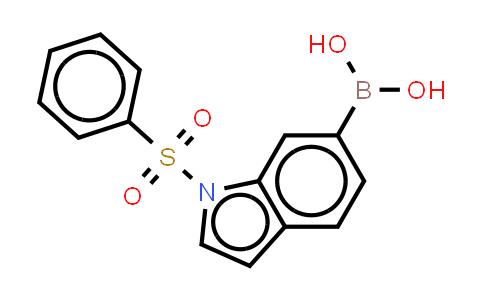 DY455688 | 480438-52-6 | 1-(Phenylsulphonyl)-1H-lndole-6-boronic acid