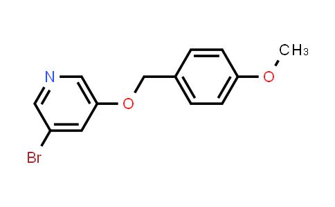 552331-73-4 | 3-Bromo-5-(4-methoxybenzyloxy)pyridine