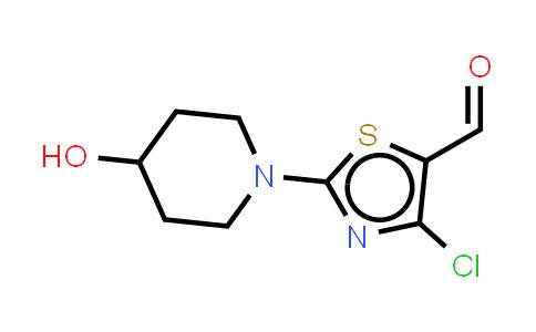 MC455735 | 883107-61-7 | 4-Chloro-2-(1-piperidin-4-ol)-5-thiazolecarboxaldehyde