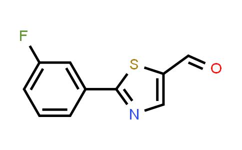 914348-84-8 | 2-(3-Fluorophenyl)thiazole-5-carbaldehyde