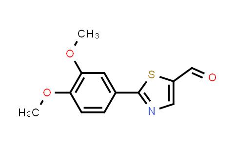 914348-85-9 | 2-(3,4-Dimethoxyphenyl)thiazole-5-carbaldehyde