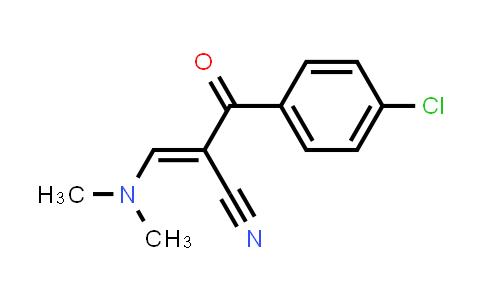 52200-16-5 | 2-[(Dimethylamino)methylene]-3-(4-chlorophenyl)-3-oxo-propanenitrile