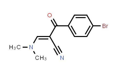 MC455748 | 52200-18-7 | 2-[(Dimethylamino)methylene]-3-(4-bromophenyl)-3-oxo-propanenitrile
