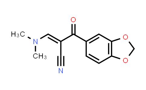 96219-78-2 | 2-[(Dimethylamino)methylene]-3-(3,4-methylenedioxyphenyl)-3-oxo-propanenitrile