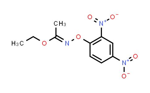 54322-32-6 | Ethyl N-(2,4-dinitrophenoxy)acetimidate