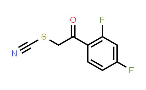 887625-49-2 | 2,4-Difluorophenacyl thiocyanate