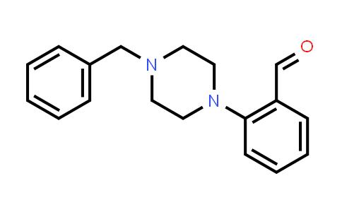 112253-26-6 | 2-(4-Benzylpiperazin-1-yl)benzaldehyde