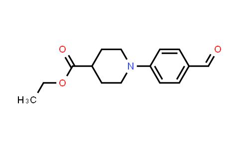 85345-11-5 | 1-(4-Formylphenyl)piperidine-4-carboxylic acid ethyl ester