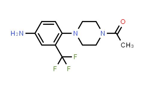 914348-88-2 | 1-[4-(4-Amino-2-trifluoromethylphenyl)piperazin-1-yl]ethanone