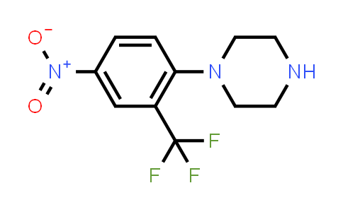 381242-61-1 | 1-[4-Nitro-2-(trifluoromethyl)phenyl]piperazine