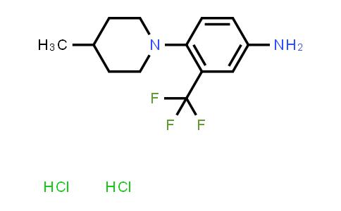 1189494-84-5 | 4-Methyl-1-(4-amino-2-trifluoromethylphenyl)piperidine dihydrochloride