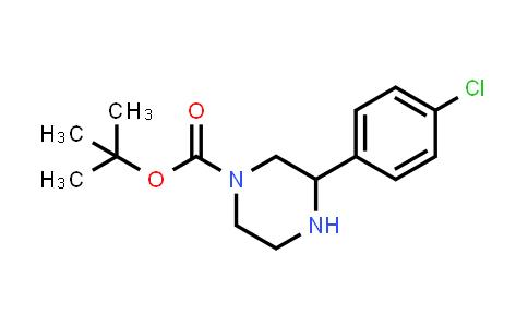 886767-49-3   3-(4-Chlorophenyl)piperazine-1-carboxylic acid tert-butyl ester
