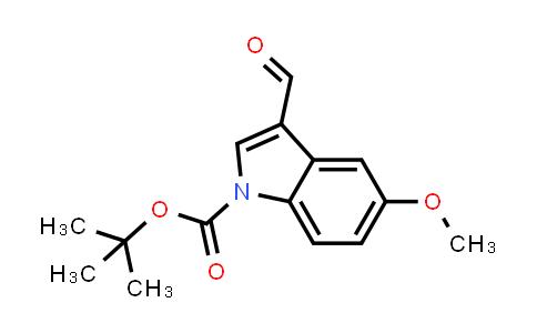 MC455833 | 324756-80-1 | 5-Methoxy-3-formylindole-1-carboxylic acid tert-butyl ester