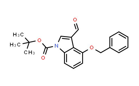 404888-01-3   4-Benzyloxy-3-formylindole-1-carboxylic acid tert-butyl ester