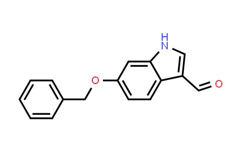 92855-64-6 | 6-Benzyloxyindole-3-carbaldehyde