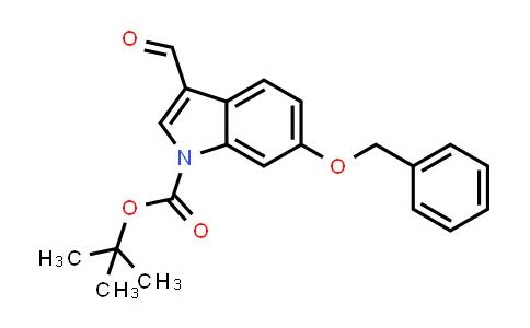 630110-71-3   6-Benzyloxy-3-formylindole-1-carboxylic acid tert-butyl ester