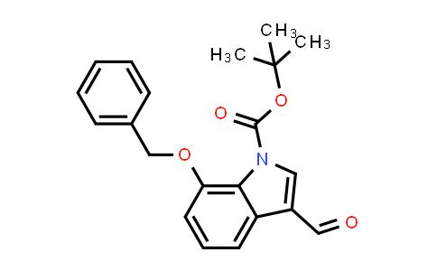 914348-99-5 | 7-Benzyloxy-3-formylindole-1-carboxylic acid tert-butyl ester