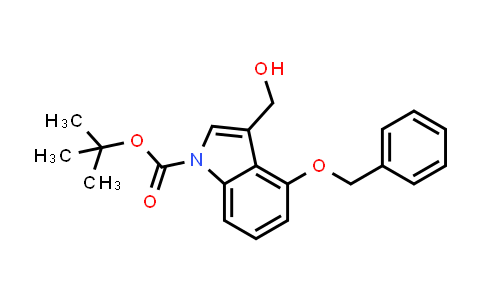 914349-09-0 | 4-Benzyloxy-3-hydroxymethylindole-1-carboxylic acid tert-butyl ester
