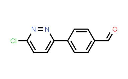 914349-19-2 | 4-(6-Chloropyridazin-3-yl)benzaldehyde