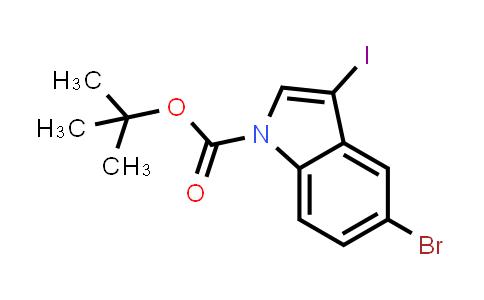 850349-72-3 | 5-Bromo-3-iodoindole-1-carboxylic acid tert-butyl ester