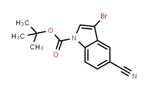 MC455928 | 348640-12-0 | 3-Bromo-5-cyanoindole-1-carboxylic acid tert-butyl ester