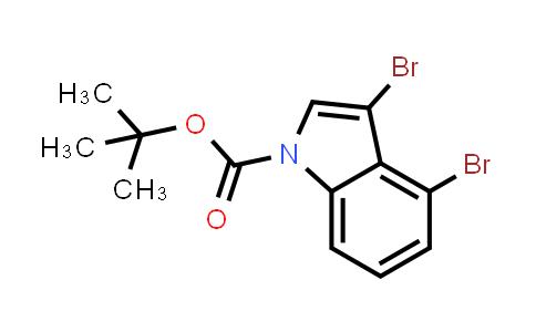 219943-38-1 | 3,4-Dibromoindole-1-carboxylic acid tert-butyl ester