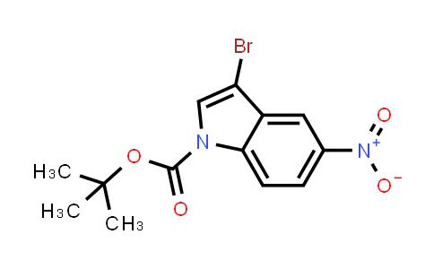914349-31-8 | 3-Bromo-5-nitroindole-1-carboxylic acid tert-butyl ester