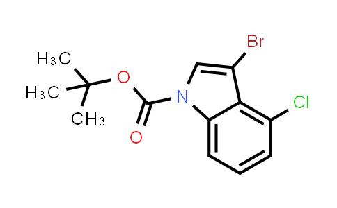 914349-33-0 | 3-Bromo-4-chloroindole-1-carboxylic acid tert-butyl ester
