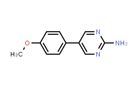 MC455938 | 31408-47-6 | 5-(4-Methoxyphenyl)pyrimidin-2-ylamine