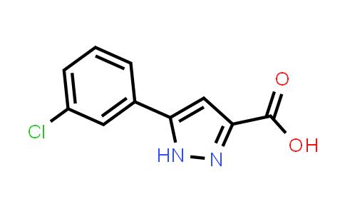 MC455947 | 595610-50-7 | 5-(3-Chlorophenyl)-1H-pyrazole-3-carboxylic acid