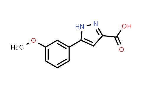 MC455948 | 834868-54-1 | 5-(3-Methoxyphenyl)-1H-pyrazole-3-carboxylic acid