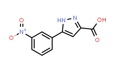 899714-76-2 | 5-(3-Nitrophenyl)-1H-pyrazole-3-carboxylic acid