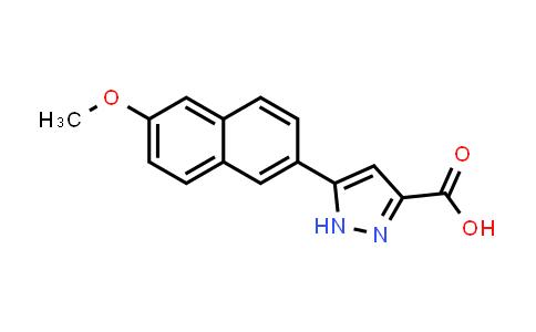 1257877-12-5 | 5-(6-Methoxynaphthalen-2-yl)-1H-pyrazole-3-carboxylic acid