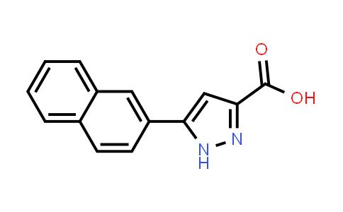 164295-94-7 | 5-Naphthalen-2-yl-1H-pyrazole-3-carboxylic acid