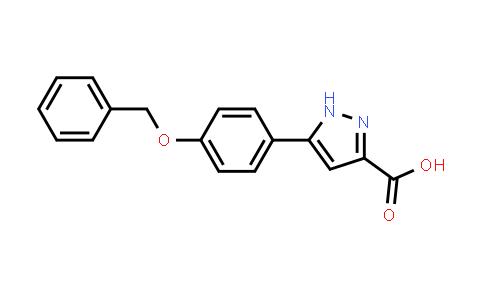 795260-68-3   5-(4-Benzyloxyphenyl)-1H-pyrazole-3-carboxylic acid