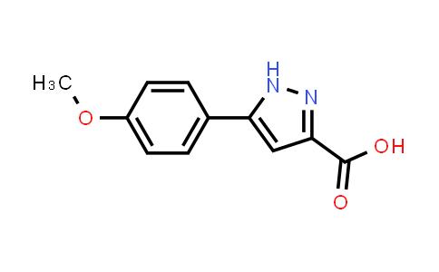 27069-16-5 | 5-(4-Methoxyphenyl)-1H-pyrazole-3-carboxylic acid