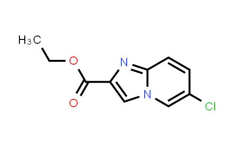 67625-38-1 | 6-Chloroimidazo[1,2-a]pyridine-2-carboxylic acid ethyl ester