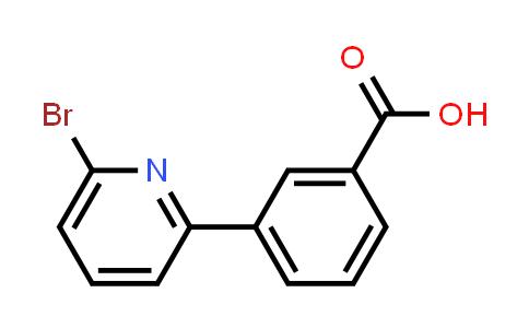 914349-44-3 | 3-(6-Bromopyridin-2-yl)benzoic acid