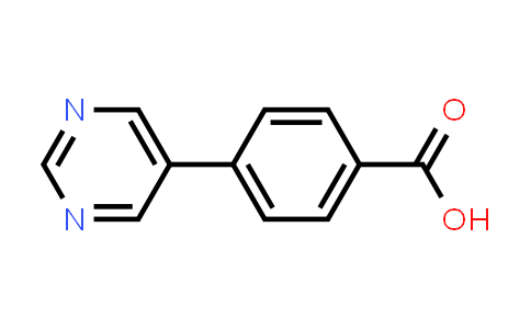 216959-91-0 | 4-Pyrimidin-5-yl-benzoic acid