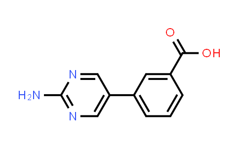 914349-45-4 | 3-(2-Aminopyrimidin-5-yl)benzoic acid