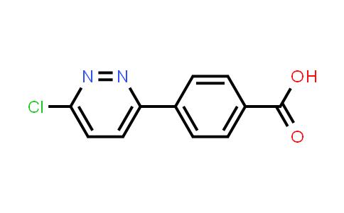 845827-17-0 | 4-(6-Chloropyridazin-3-yl)benzoic acid