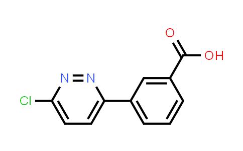 914349-46-5 | 3-(6-Chloropyridazin-3-yl)benzoic acid